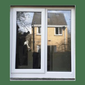 Aluclad white window by Expert windows