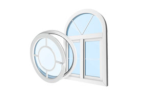 uPVC windows and doors in Individual sizes and shapes